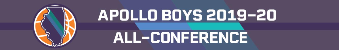 2019-20 Apollo all-conference boys basketball team