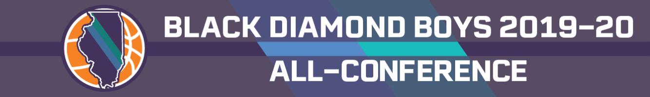2019-20 Black Diamond boys basketball all-conference teams