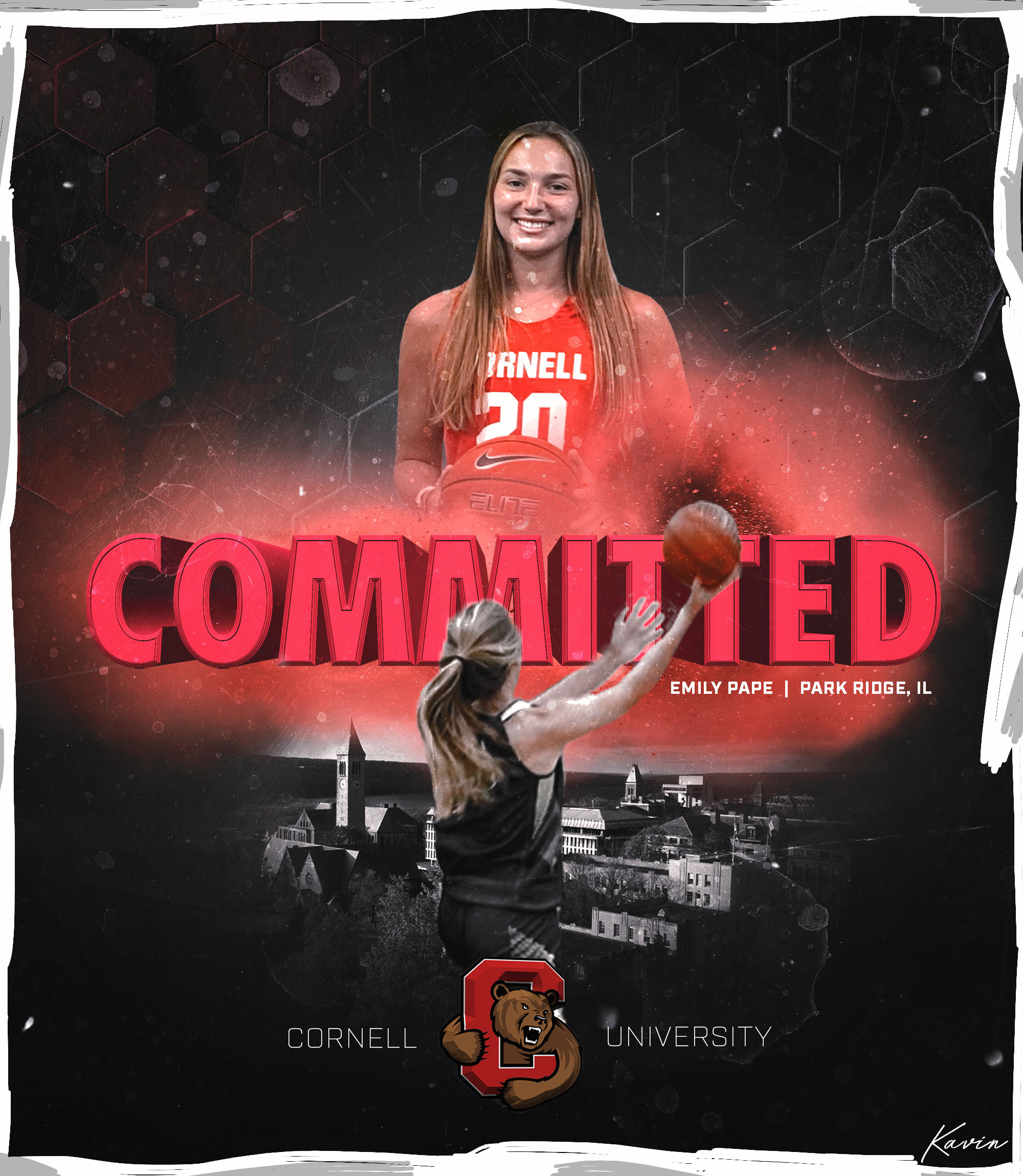Seeking Unpredictability, Maine South's Emily Pape Chooses Cornell