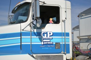 Driving Truck