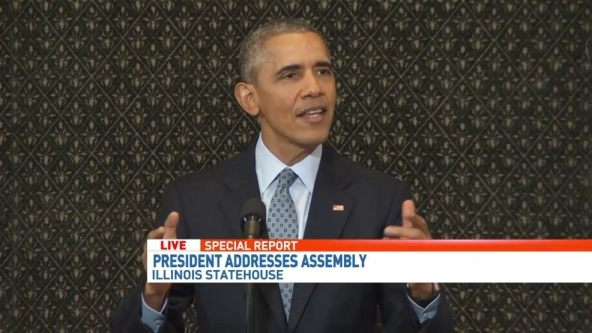 Obama Addresses ILGA