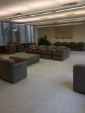 This is a lounge area where students can study in a quiet space. It also allows students to have access to computers and wifi.