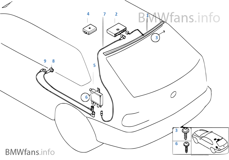 Wiring Diagram Bmw E39 Radio Antenna