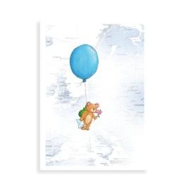 Beertje met ballon