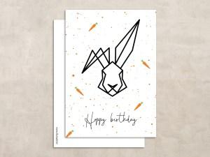 Pouf hoppy birthday