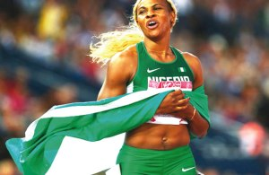 Sometimes, I contemplate running for another country– Blessing Okagbare