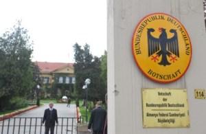 Turkey detains 4 over alleged threat to German embassy