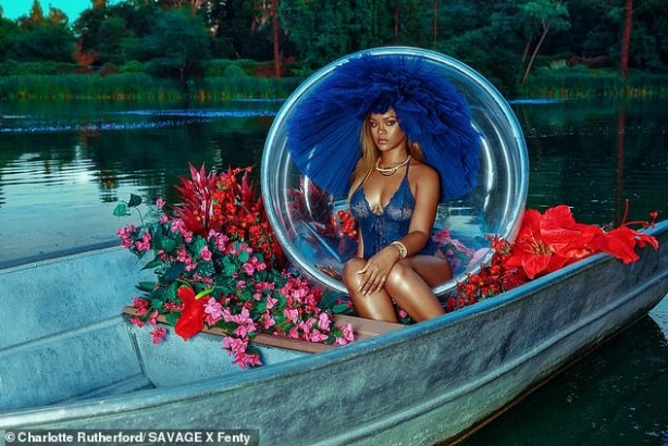 Rihanna Flashes Her Curves In New Pictures