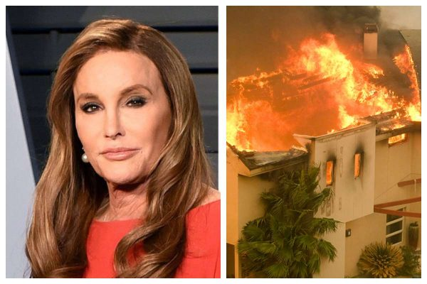 wildfire destroys Caitlyn Jenner's house in California