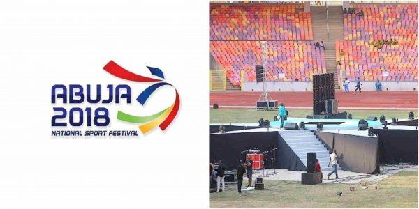 National Sports Festival kicks off in Abuja tonight