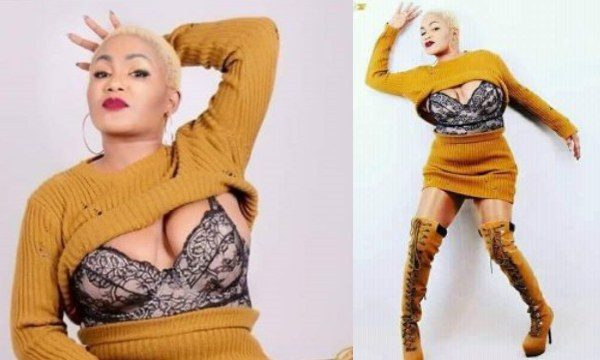 Zambian singer Kay Figo summoned by Police over pantless photo (18+)