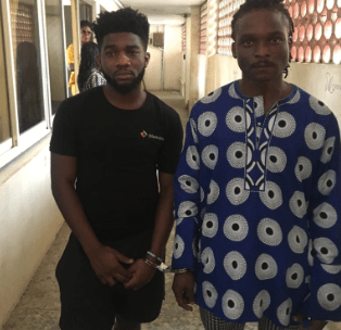 Photo: Lagos state police arrest two men for drugging and raping girl in Lekki