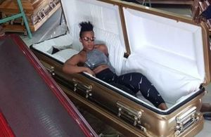 Zodwa speaks on inspiration behind purchasing her casket