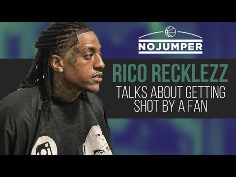 VIDEO: Rico Recklezz Talks Getting Shot By Fan On No Jumper