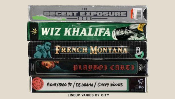 """Wiz Khalifa Announces """"The Decent Exposure Tour"""""""
