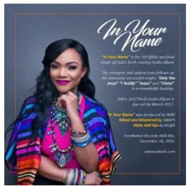 VIDEO: ADA – In Your Name | mp4 Download
