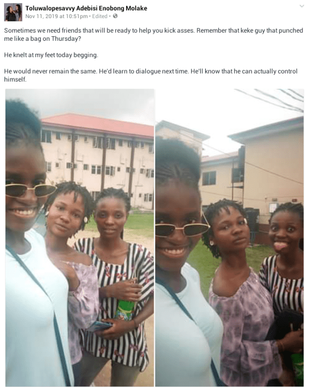 """""""This place will break you""""- Young Nigerian lady narrates how she was allegedly beaten up, stripped in public by a Keke driver"""
