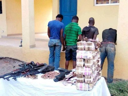 3 sentenced to death by hanging for the 2016 Osun Bank robbery that claimed many lives