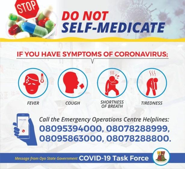 Oyo records second Coronavirus death