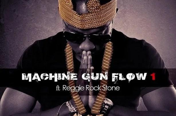 DOWNLOAD: Flowking Stone – Machine Gun Flow ft. Reggie Rockstone MP3