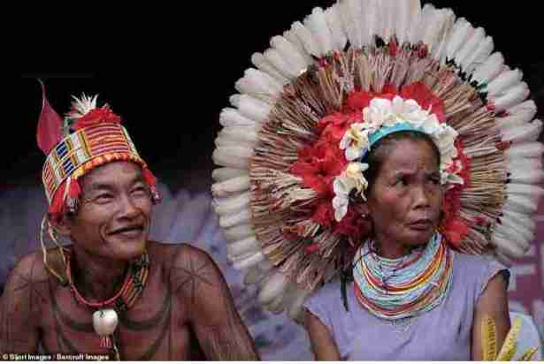 """How This Tribe Spend Nights Carrying Out """"Trance-Like"""" Dances And Covering Themselves In Tattoos"""