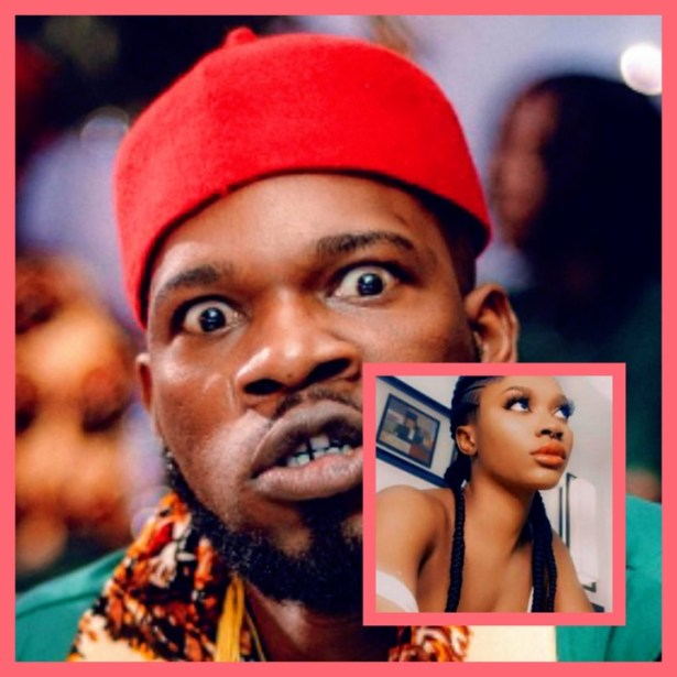 Broda Shaggi reacts as lady threatens to release their s3xtape