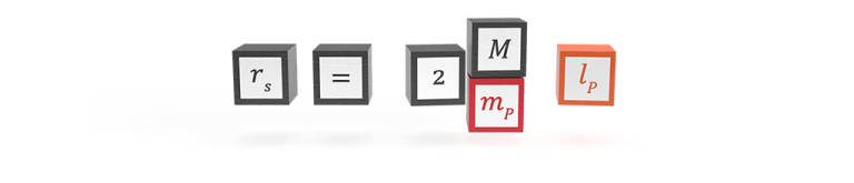 The natural formula for Schwarzschild radius in Planck units
