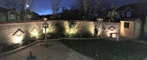 cutlers close stitch 3 300x122 - Our Latest Garden Lighting Project in Bishops Stortford