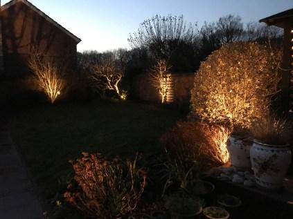 bEDS - illuminating Gardens, Garden Lighting Installation Gallery
