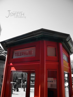 Otagon, Dunedin, Central City, Red, Phone Box
