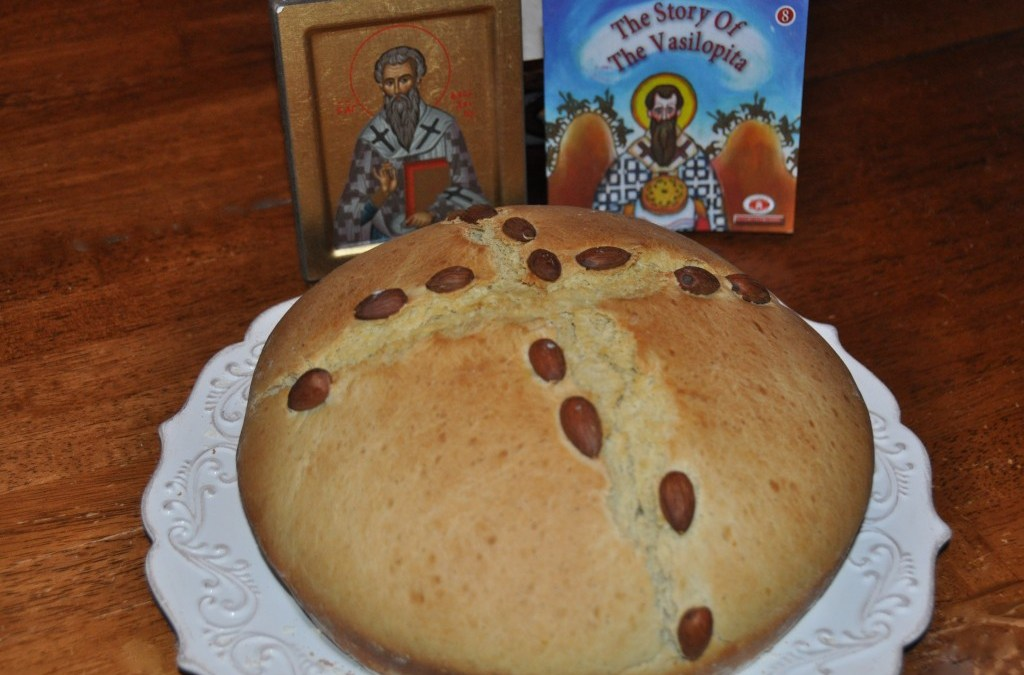 Lessons Through a Loaf of Bread: St. Basil & Vasilopita