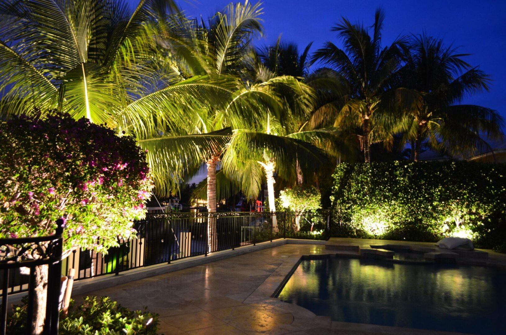 garden lighting solutions in boca raton fl