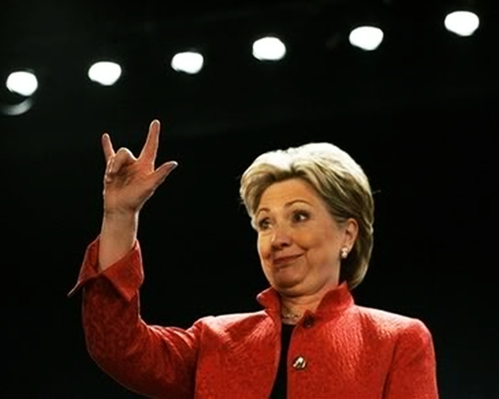 Image result for hillary clinton is illuminati