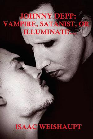 Johnny Depp Vampire Satanist Illuminati book cover
