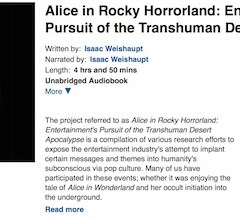 Alice in Rocky Horrorland: The Audiobook