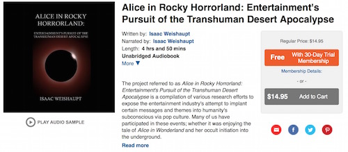 Alice in Rocky Horrorland Audible