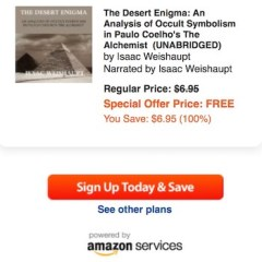 The Desert Enigma- Analysis of Occult Symbolism in The Alchemist: The Audiobook