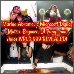 Marina Abramovic Microsoft Digital Matrix, Beyonce, Lil Pump, and Juice WRLD 999 REVEALED!