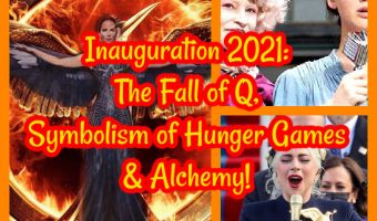 Inauguration 2021: The Fall of Q, Symbolism of Hunger Games & Alchemy!