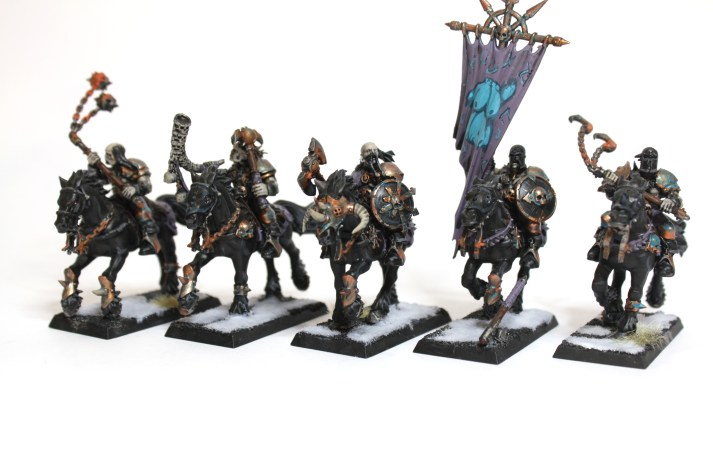 Marauders of Krüll, once noble, now feral.
