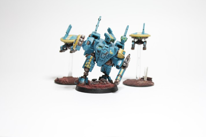 The original Battlesuit, a practice in crisp painting