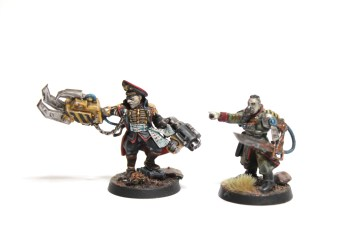 Commissar Yarrick and James H. Warden