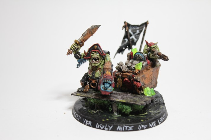 Orc Pirate (Mordheim themed painting challenge)