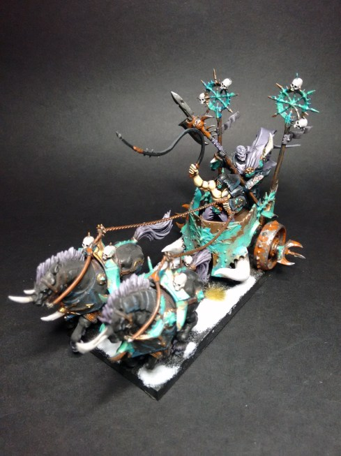 A Horselord's war chariot