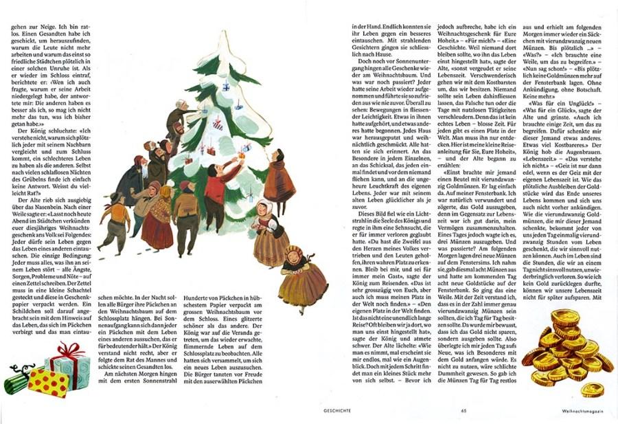 Die magische Nacht, Schweizer Illustrierte