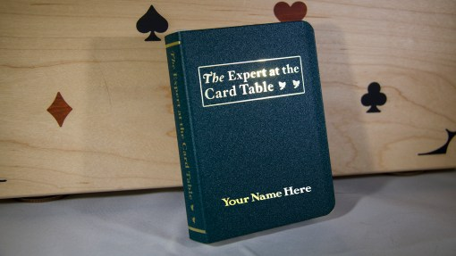 Personalized Expert Att he Card Table Clip