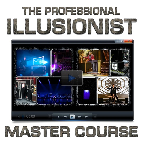 The Professional Illusionist Master Course 500 x 500