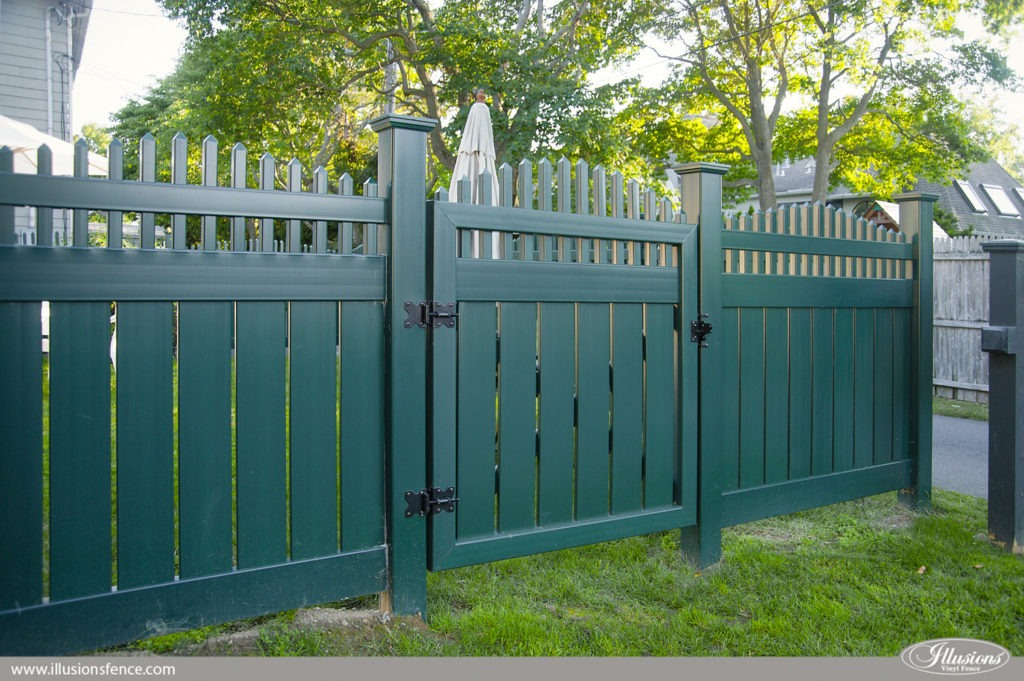 Accent Gates Make Fence Installs Look Great Illusions