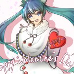 【イラスト】Happy Valentine's Day !!