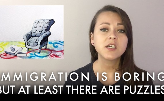 Immigration Is Boring But At Least There Are Puzzles